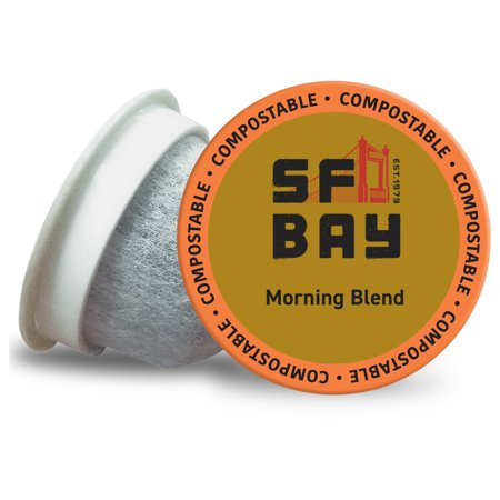 SF Bay Coffee OneCup, Morning Blend (24 Count) Single Serve Coffee K-Cup Pods Keurig Compatible, Commercially (San Francisco Chocolate Store San Francisco Ca)