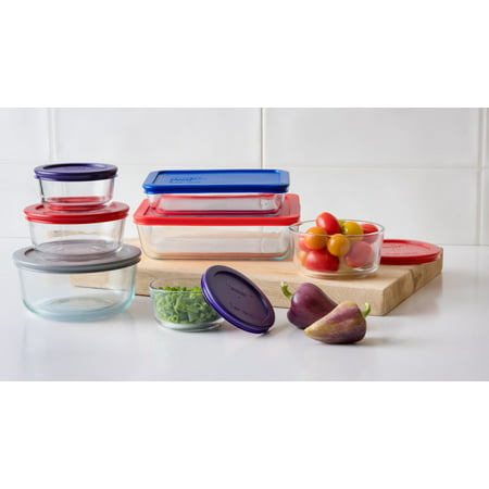 Pyrex® Simply Store Baking Dish, Glass, 14 Piece