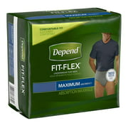 Depend Super Absorbency Underwear for Men, Maximum, Large/Extra Large, 17 Ct