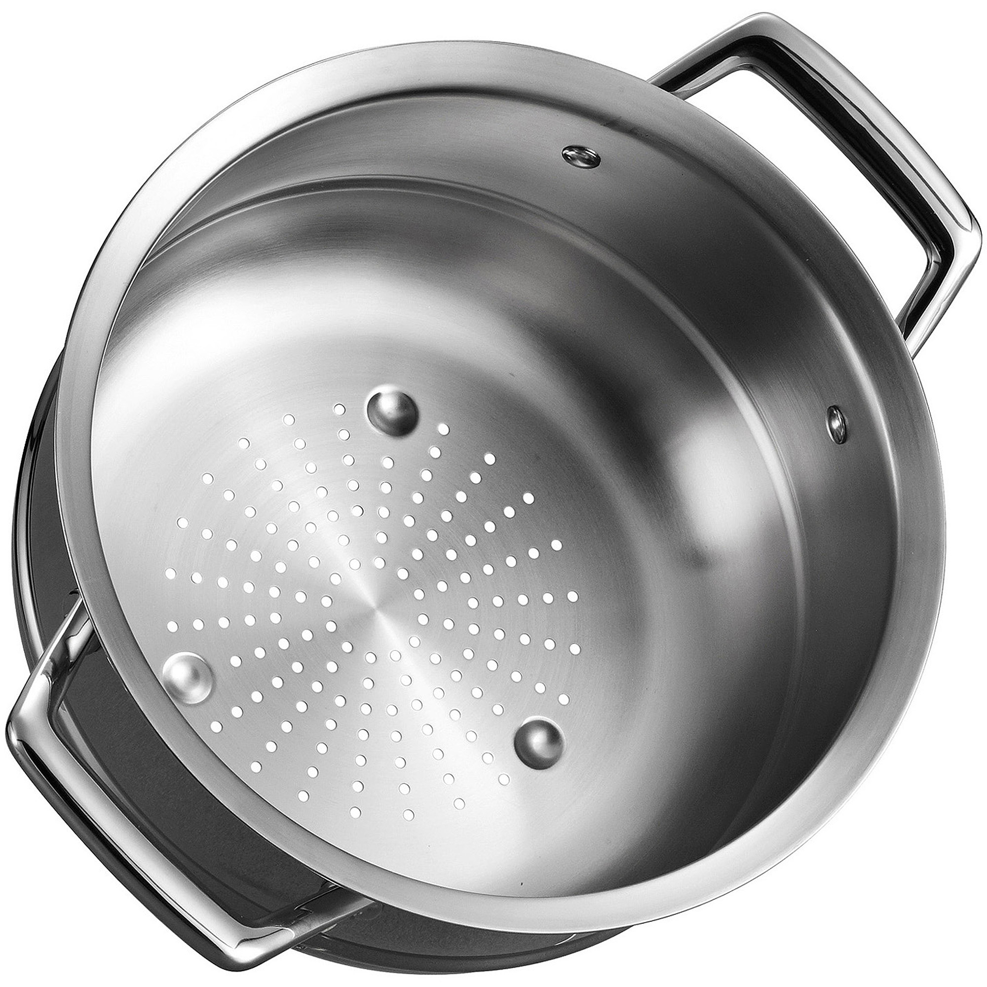 Tramontina Gourmet Prima Stainless Steel Steamer Insert Fits 5 Qt Dutch Oven 6 Sauce Pot And 8 Stock