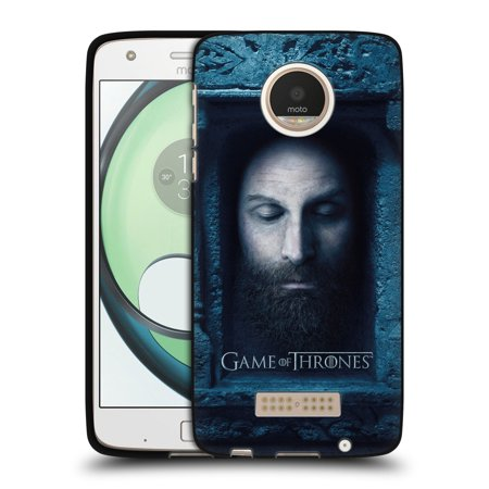 Moto Throne (OFFICIAL HBO GAME OF THRONES FACES 2 BLACK SOFT GEL CASE FOR MOTOROLA)