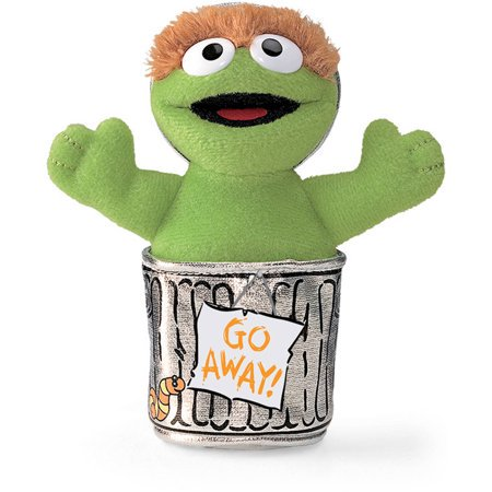 Gund Sesame Street Oscar Beanbag 6 Inch Plush Figure](Gund Halloween Bean Bags)