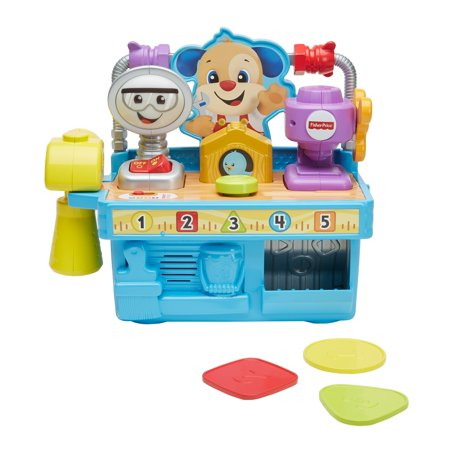 Fisher-Price Laugh and Learn Busy Learning Tool Bench
