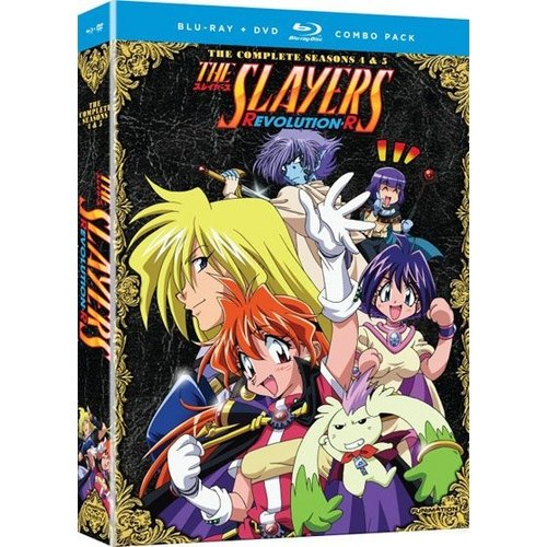 Slayers: Seasons 4 And 5 (Blu-ray)