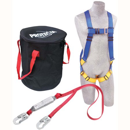 Fall Arrest Lanyard (Compliance in a Can Light Roofer's Fall Protection Kit - In a bag)