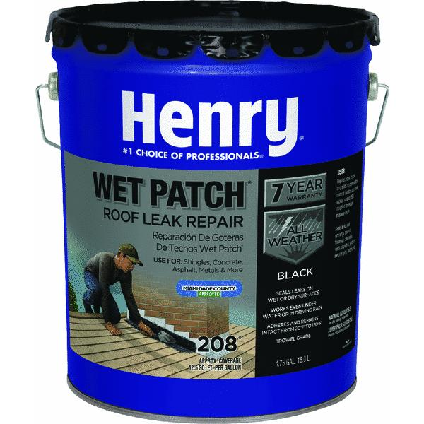 Wet Patch Roof Cement and Patching Sealant