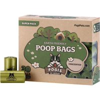 Pogi's Poop Bags - 30 Rolls (450 Bags) Earth-Friendly, Scented, Leak-Proof Dog Waste Bags