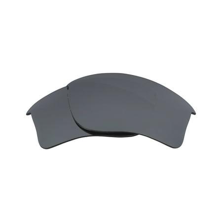 Flak Jacket Xlj Golf - Replacement Lenses Compatible with OAKLEY Flak Jacket XLJ Polarized Silver