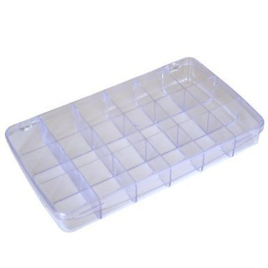 Multi-Functional Storage Box with 18 Divided Slots Compartments