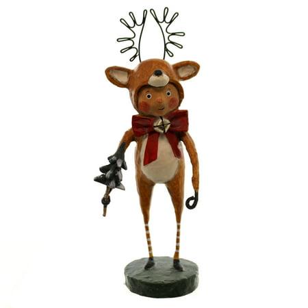 Lori Mitchell Halloween Figurines (LITTLE DASHER Reindeer Whimsical Christmas Figurine, Lori Mitchell, by)