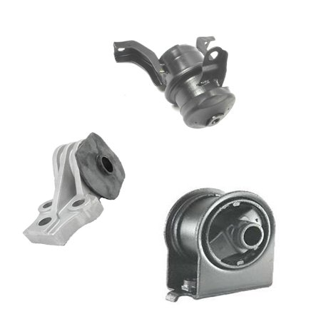 Fits: 2005-2011 Ford Escape/ Mazda Tribute 2.3/ 2.5L Motor & Trans. Mount Set 3PCS 05 06 07 08 09 10 11 A5412 A5446 A5481 ()
