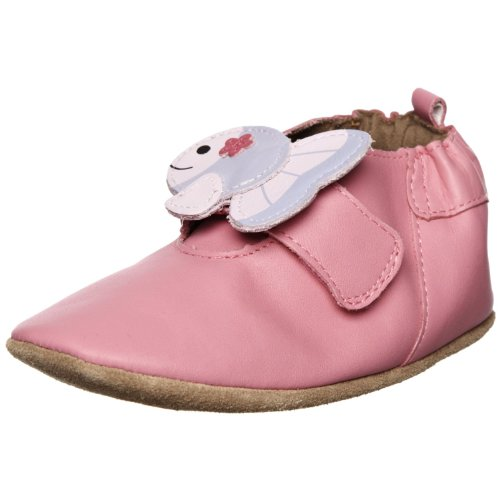 Robeez Infant Girls Beach Buds Pink 12-18 Months by
