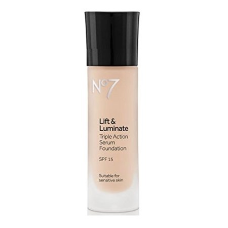 No7 Lift & Luminate TRIPLE ACTION Serum Foundation - Cool Vanilla, No7 Lift & Luminate TRIPLE ACTION Serum Foundation By No 7