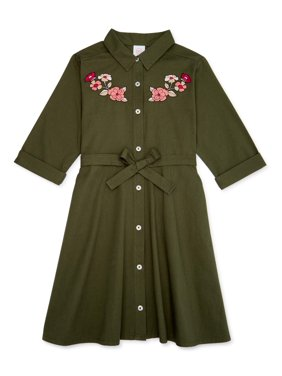 Wonder Nation Girls 4-18 Denim Dress