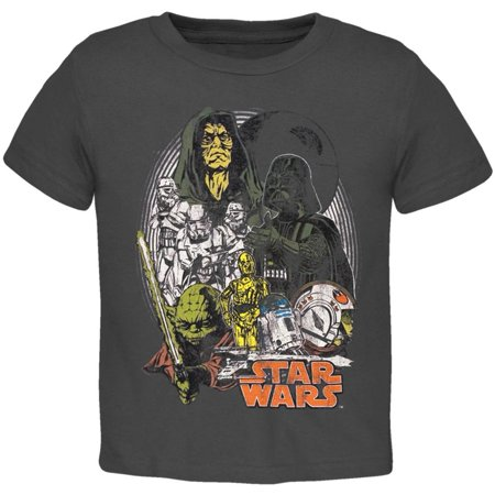 Star Wars   Group Distressed Juvy T Shirt