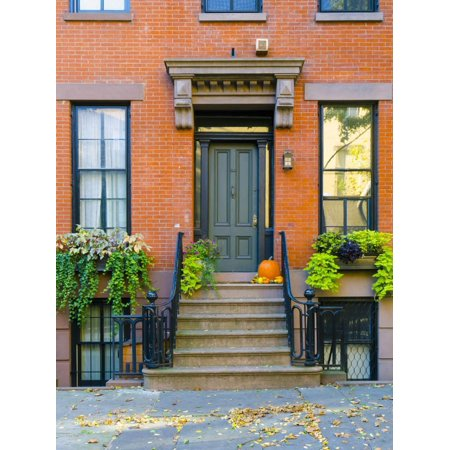 USA, New York, Brooklyn, Brooklyn Heights, Halloween Pumpkins Print Wall Art By Alan Copson](Brooklyn's Denver Halloween)