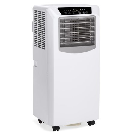 Best Choice Products 3-in-1 10,000 BTU Portable Compact Air Conditioner AC Cooling Fan Dehumidifier Unit for Up to 200 Sq. Ft. w/ Remote Control