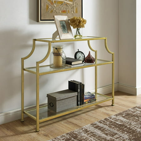 Crosley Furniture Aimee Glass Console Table