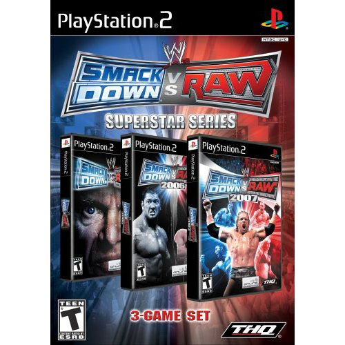 WWE Smackdown vs.Raw:Superstar Series (PS2)
