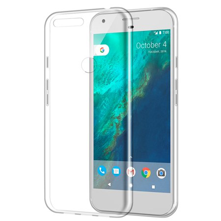 Google Pixel High Quality Crystal Skin Case - Crystal Clear Skin Halloween