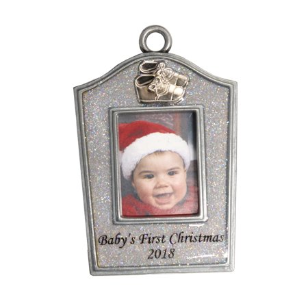Gloria Duchin Babys First Photo - Baby Handprint Ornament