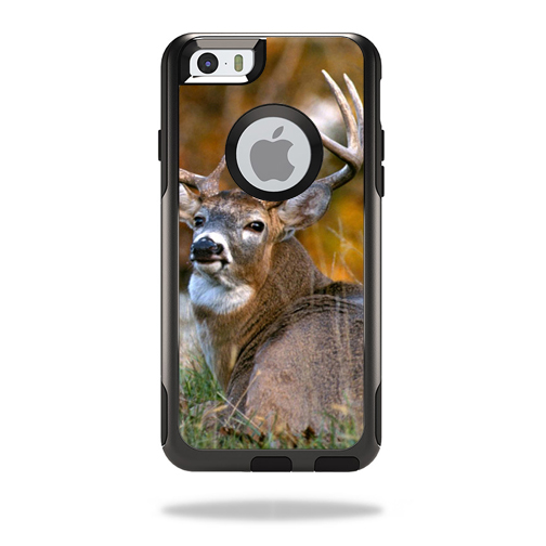 MightySkins Protective Vinyl Skin Decal Cover for OtterBox Commuter iPhone 6/6S Case Cover Sticker Skins Deer