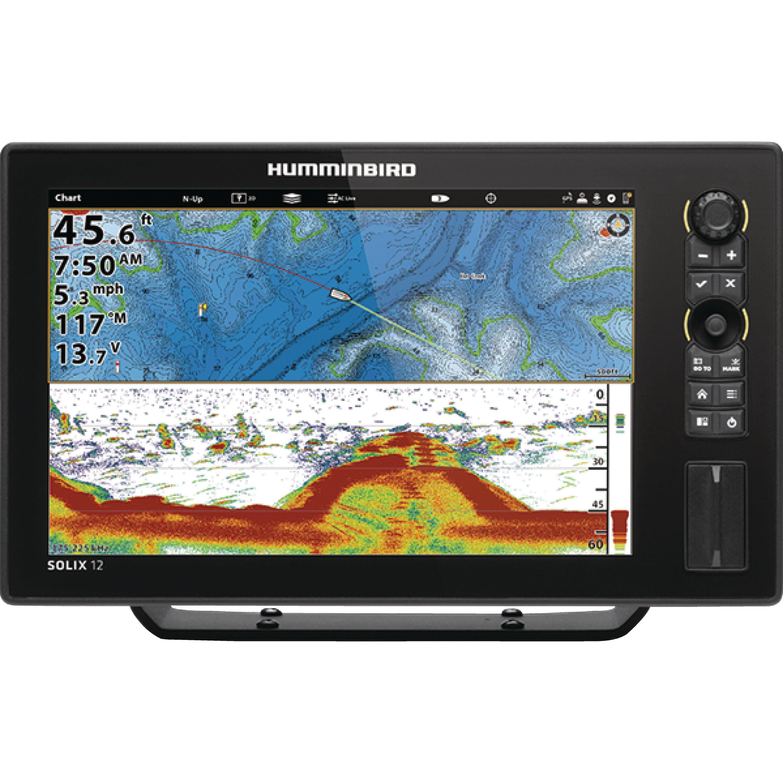 "Humminbird 410470-1 SOLIX 10 CHIRP GPS Sonar Fishfinder & Chartplotter with 10.1"" Display"
