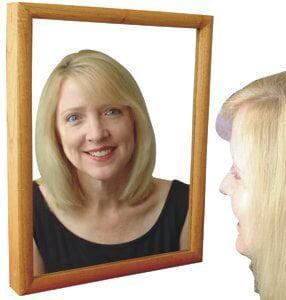 Wood Finish Mirror Hidden 1080p HD Camera