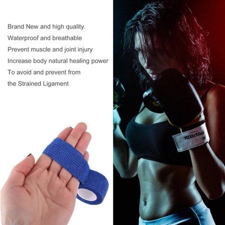 New Arrival 2.5cm*4.5m Self-Adhering Bandage Wraps Elastic Adhesive First Aid Tape Stretch 5cm free shipping - image 5 de 7