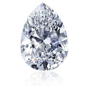 1.00ct E Color, SI1 Clarity, Very Good Cut Pear Shaped IGI Certified Diamond - image 1 de 1
