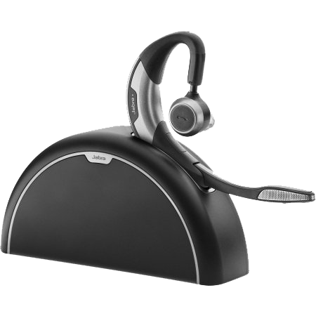 Jabra Motion UC MS Bluetooth Mono Headset W/ Noise Blackout & Multipoint Technology (1
