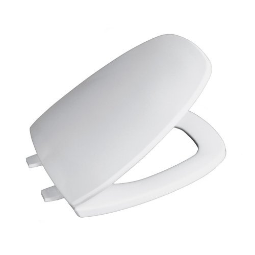 Beneke 560 Elongated Eljer Emblem White Toilet Seat