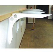 FCSB15X18WH FastCap Speed Brace Shelf Bracket 15 x 18 in., White