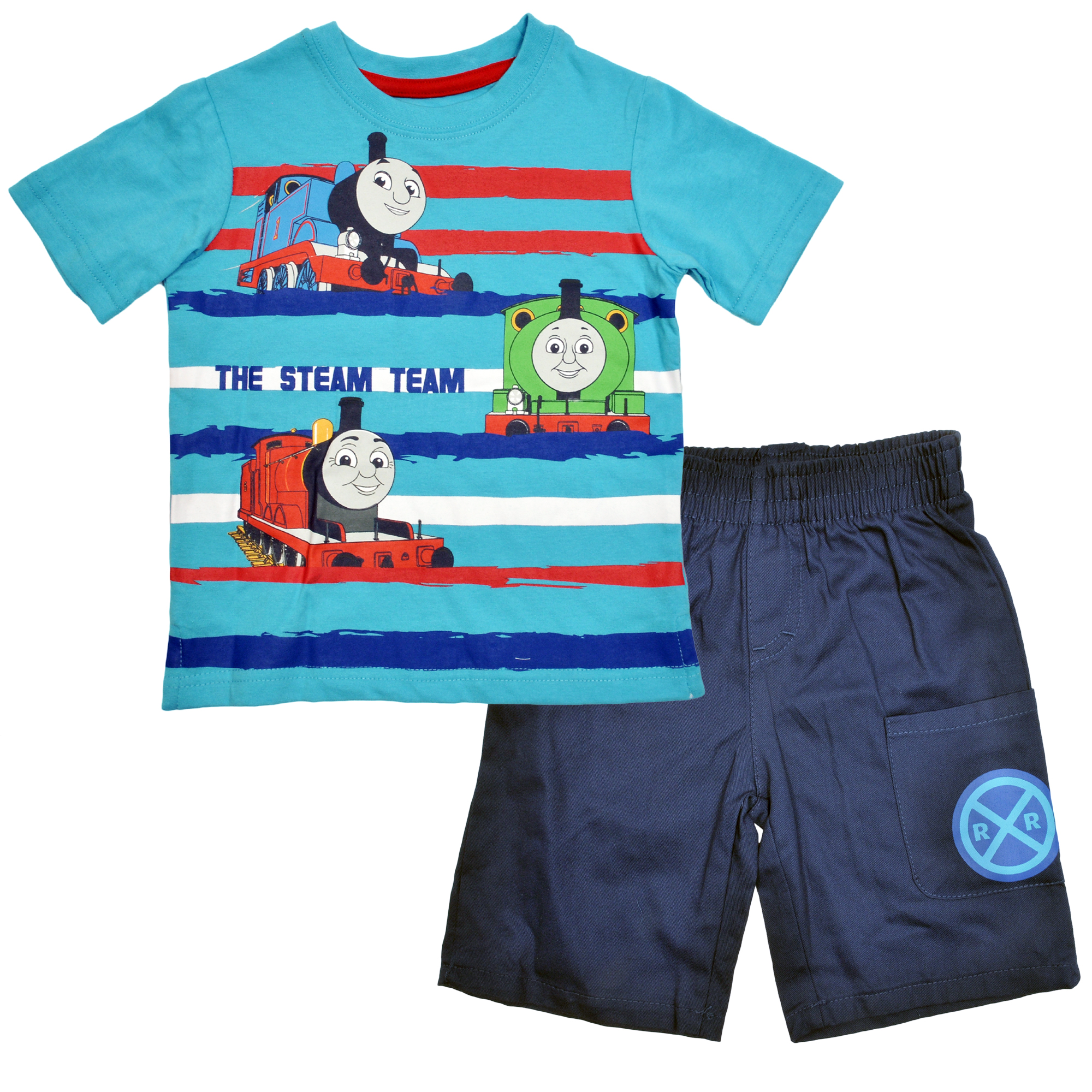 Toddler Boys Thomas The Train & Friends 2-Piece Shorts Set