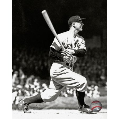 1935 Photo (Lou Gehrig 1935 Action Photo Print)