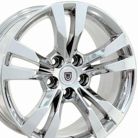 OE Wheels | CTS Style | 18 Inch | Fits Cadillac CTS | CA15C Chrome 18x8.5 Rim | Hollander - Cadillac Cts Rims