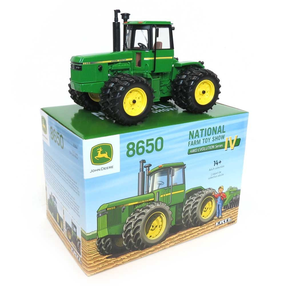 1 32 2016 National Farm Toy Show John Deere 8650 4WD with Duals, Recommended Age 14+ Years... by