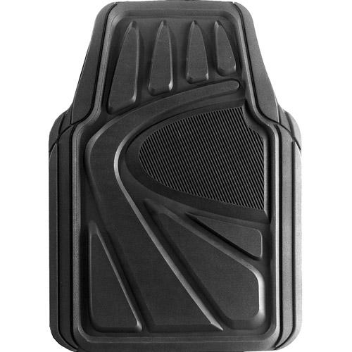 Kraco 4pc Best Rubber Floor Mats, Black