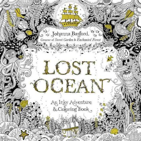 Lost Ocean An Underwater Adventure Coloring Book