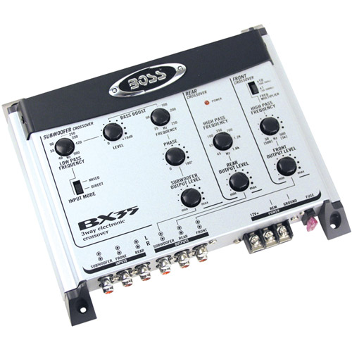 Boss Audio BX35 3-Way Electronic Crossover