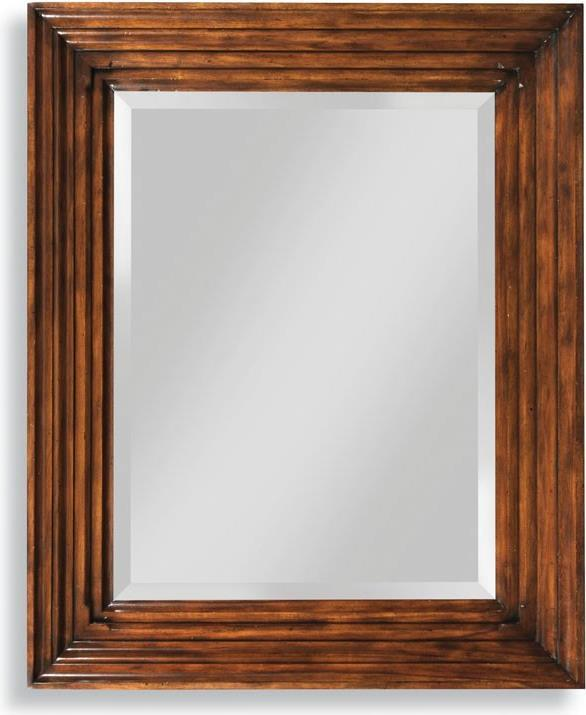 Wall Mirror WOODBRIDGE Fretwork Bordeaux Rubberwood Oak Solid Wood New  WB 771