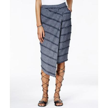 RACHEL RACHEL ROY $99 NEW 9092 Fringed Wrap Pencil Womens Skirt 0