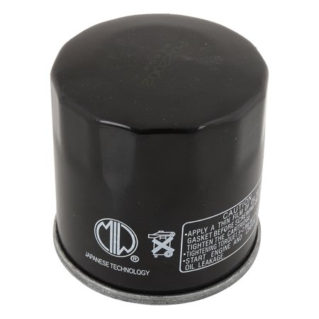 MIW PO22002--005 Oil Filter for Polaris Sportsman 400 4x4 AA AE AG 2520799, 400 Sportsman 4x4 after 12-7-00 01 2520799, Sportsman 400 4x4 AQ-AV 04 2520799, Sportsman 400 4x4 before 12-7-00 (Oil Pulling For Cavities Before And After)