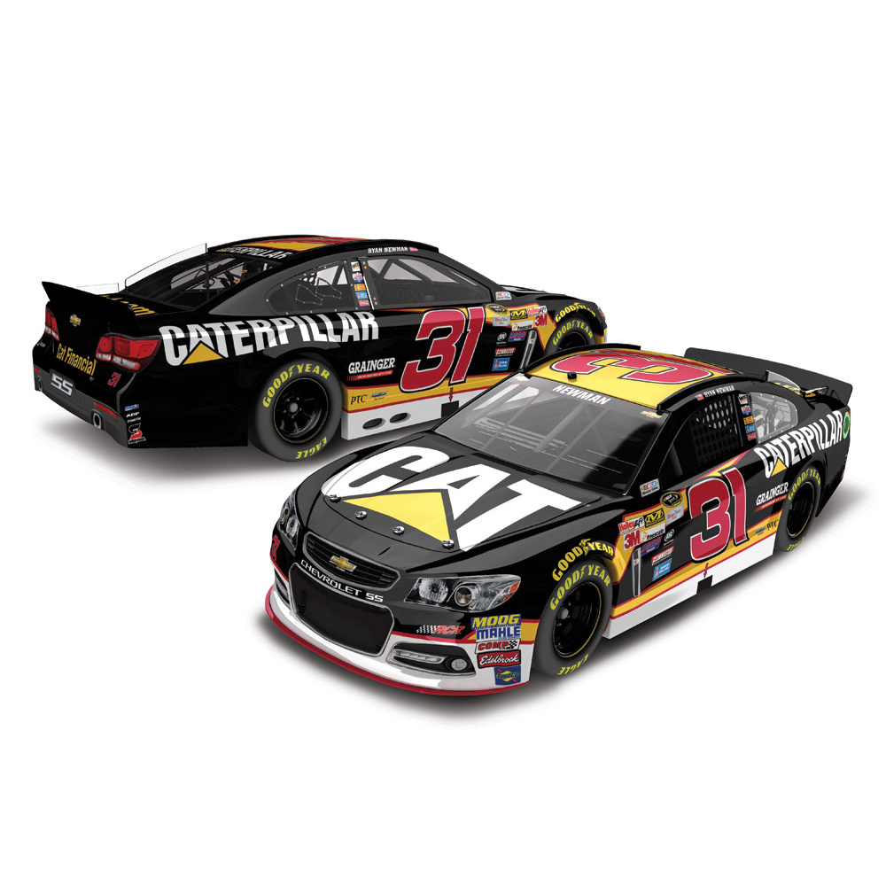Ryan Newman Action Racing 2016 #31 CAT 1:24 Platinum Die-Cast Chevrolet SS - No Size