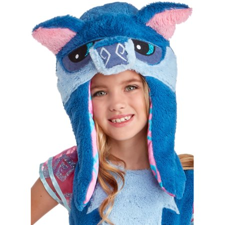 Animal Jam Happy Rowdy Wolf Girls Hood One Size Costume Accessory