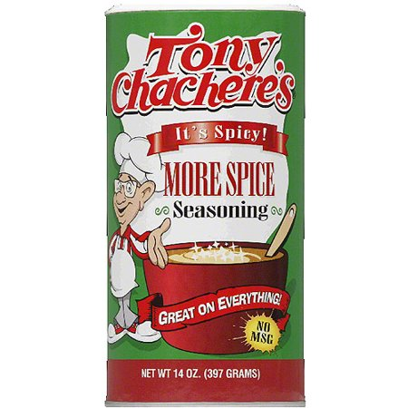 Tony Chacheres More Spice Seasoning  14 Oz  Pack Of 12