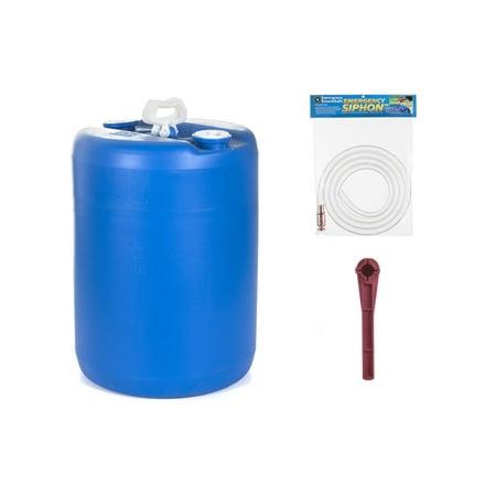 15-gallon Water Barrel Combo