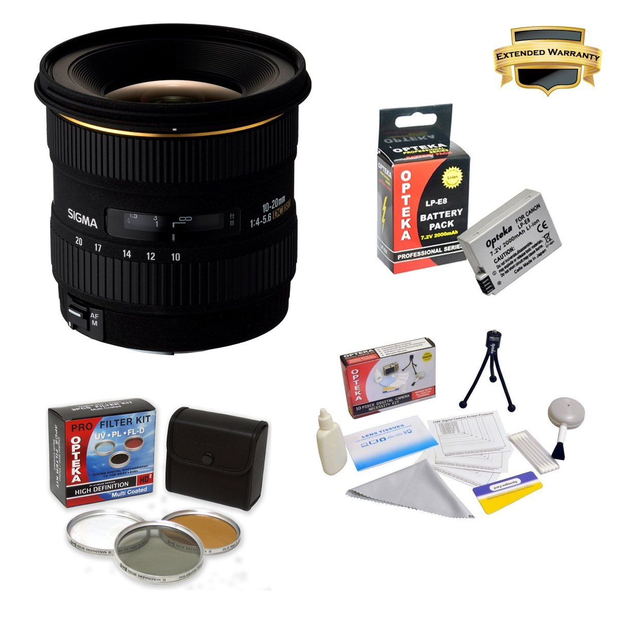 Sigma 10-20mm f/4-5.6 EX DC HSM Lens for Canon EOS-Rebel ...