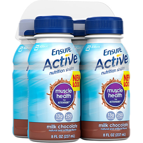 Ensure Active Muscle Health Shake, Milk Chocolate, 8-Ounce