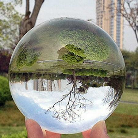 Transparent Crystal Ball Crafts Personalized Custom Decor Colored Light Ball - image 4 de 6